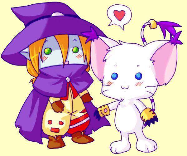 Wizardmon Gatamon From Digimon