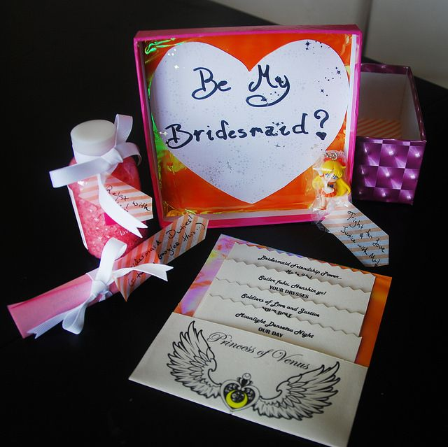 A Sailor Moon Bridesmaid Proposal: Will you be my Sailor Soldier on ...
