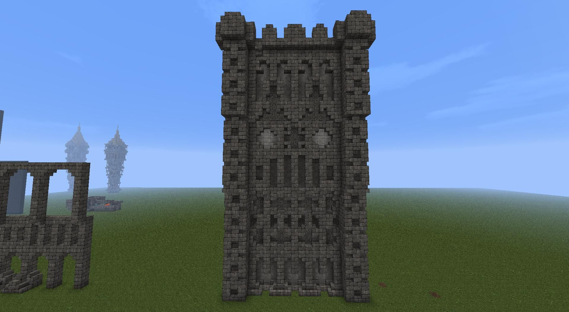 Does it look like a castle town wall and if it does is for Castle design