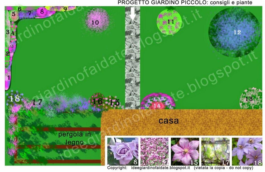 progetto-per-giardino-on-line-piccolo-creare-costruire-realizzare ... - Piccolo Giardino Quadrato