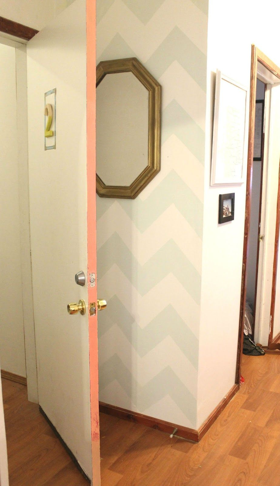 Consider Painting The Door Frame For A Quick Non Obtrusive Pop Of Color Home Decor Hacks Home Diy Home
