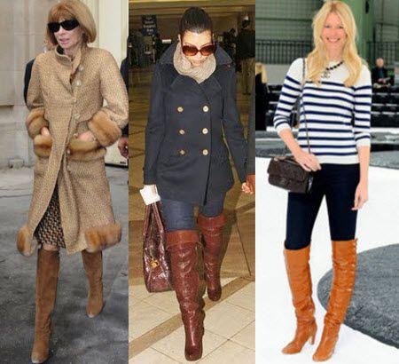 Over The Knee Boots Brown - Cr Boot
