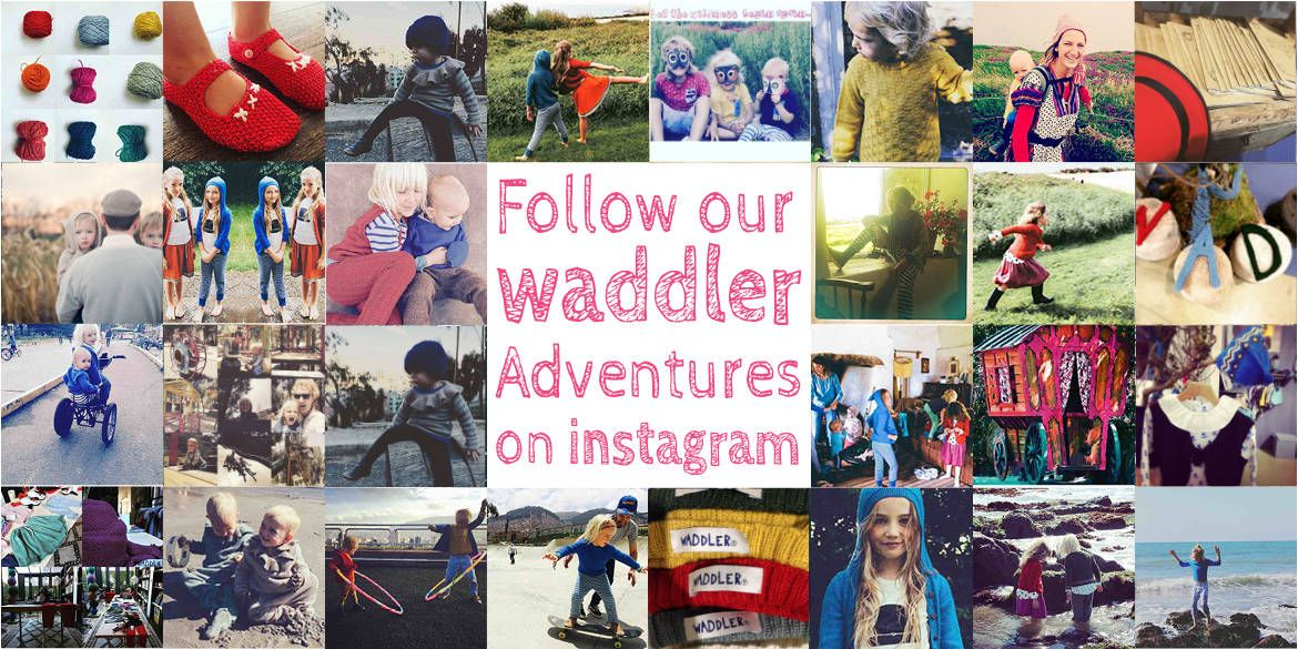 Waddler Clothing | Boutique children's clothing label, producing unique styles in baby alpaca and cotton