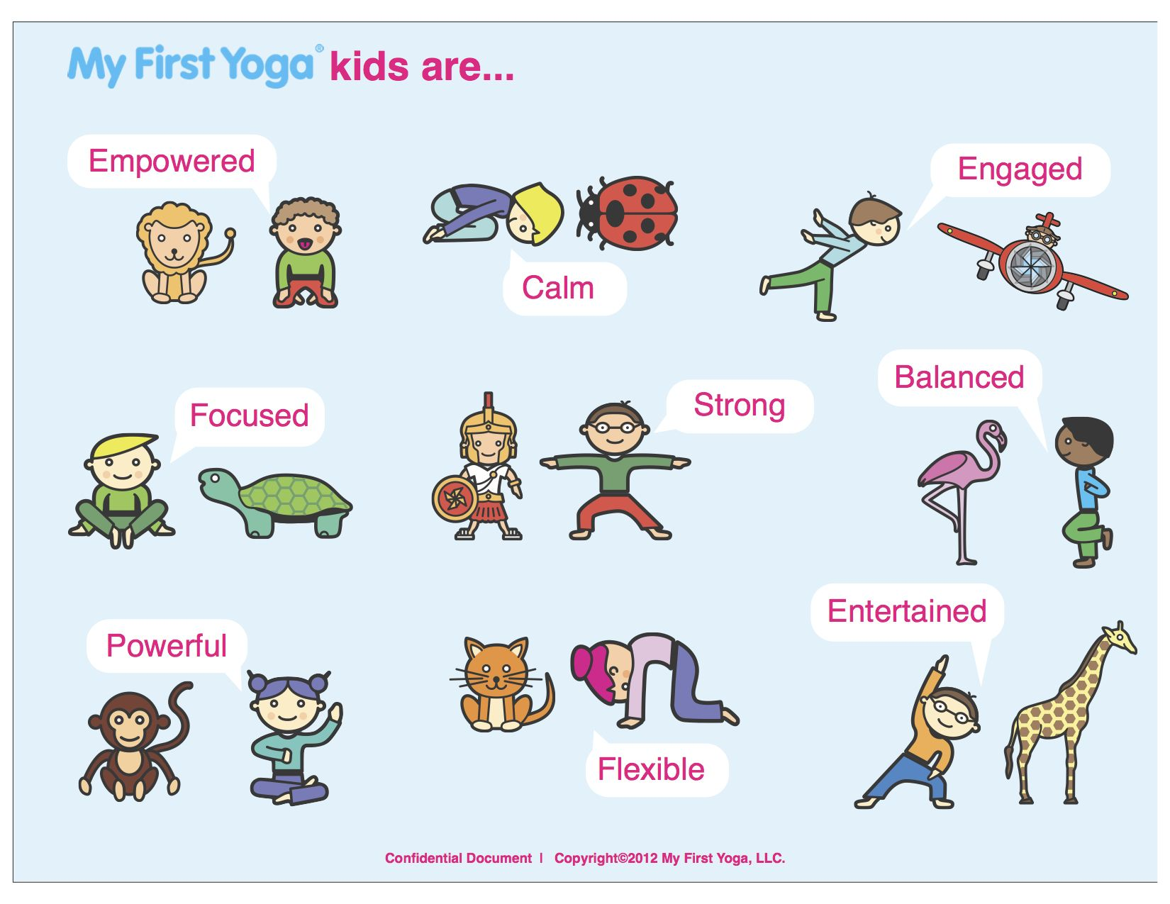 11+ Animal yoga for kids images