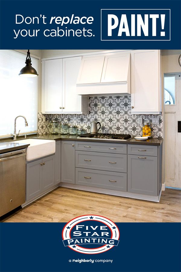 Did you know, on average, painting your kitchen cabinets ...