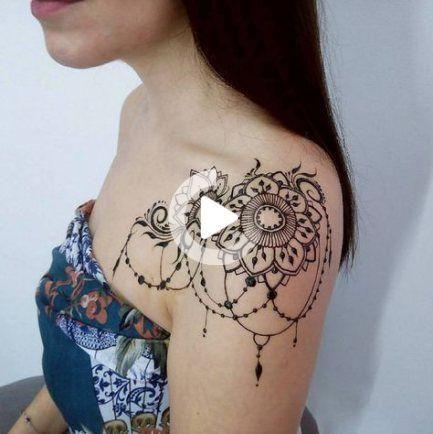 Tattoo shoulder design henna 46 Ideas for 2019