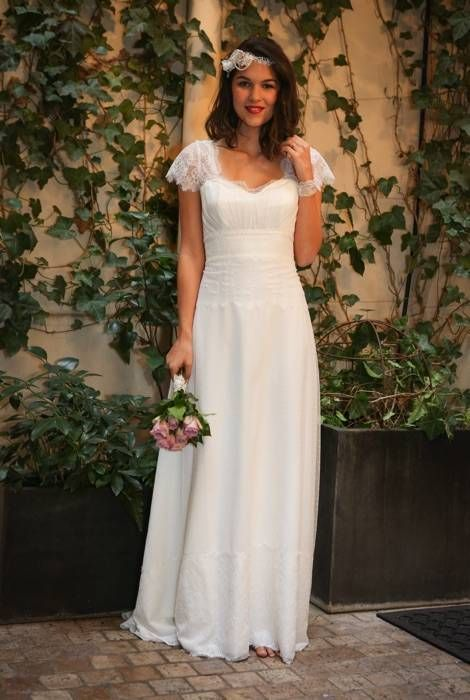 luna chic et l gante robes de mari es paris elsa gary robe mariage pinterest robe de. Black Bedroom Furniture Sets. Home Design Ideas