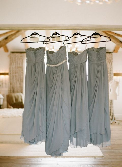 Maid Of Honor Has A Sparkly Belt To Distinguish Her From The Other Bridesmaids Love This Idea