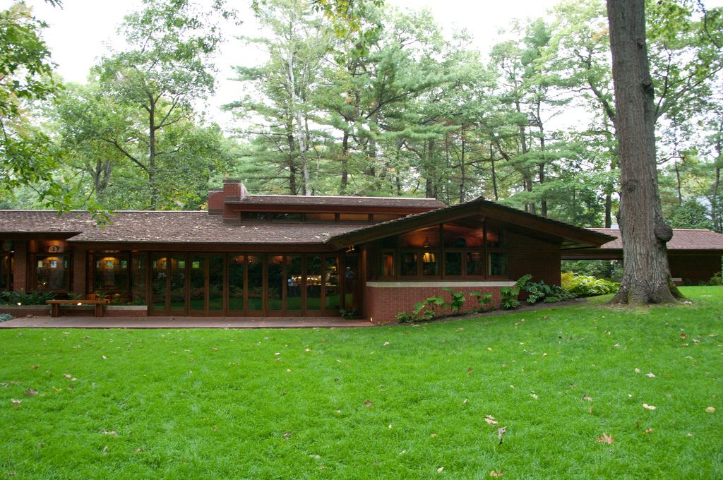 Zimmerman House Frank Lloyd Wright Architecture Usonian Style Frank Lloyd Wright Homes