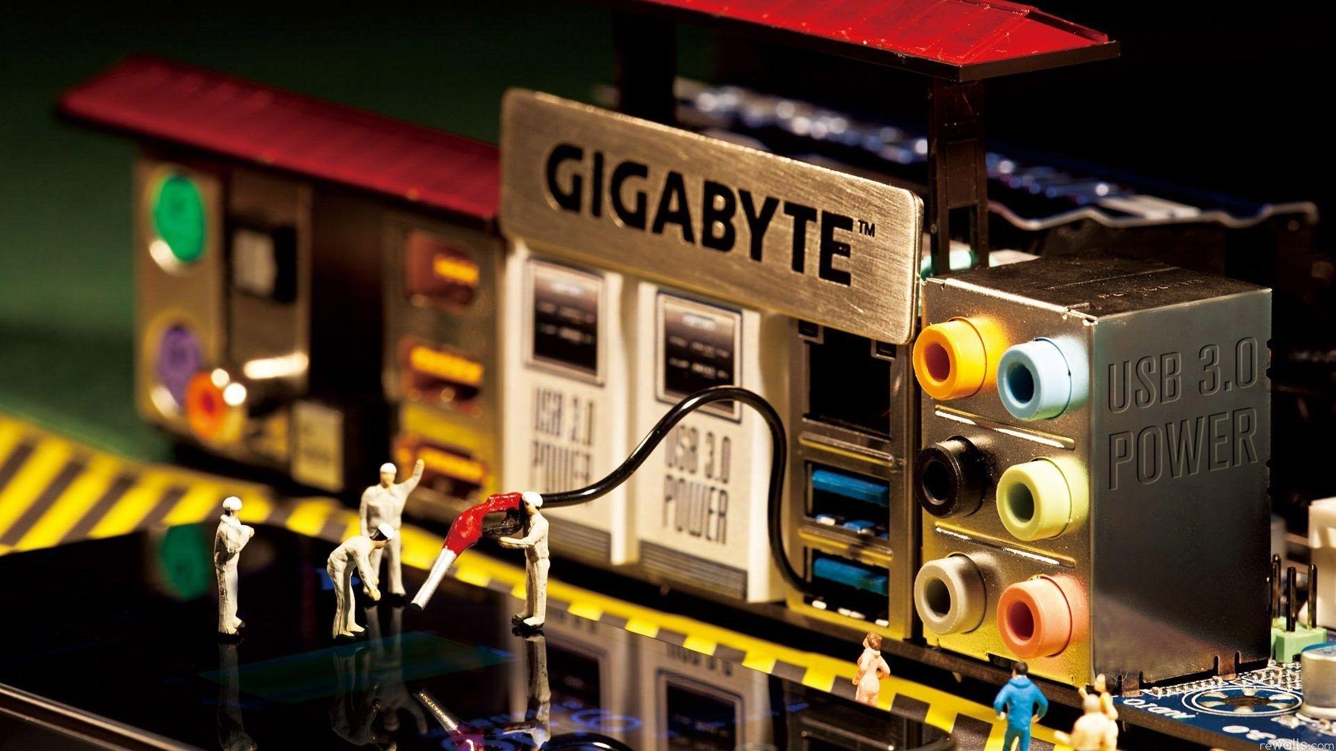 Widescreen Gigabyte Gigabyte Motherboard Full Hd Wallpaper