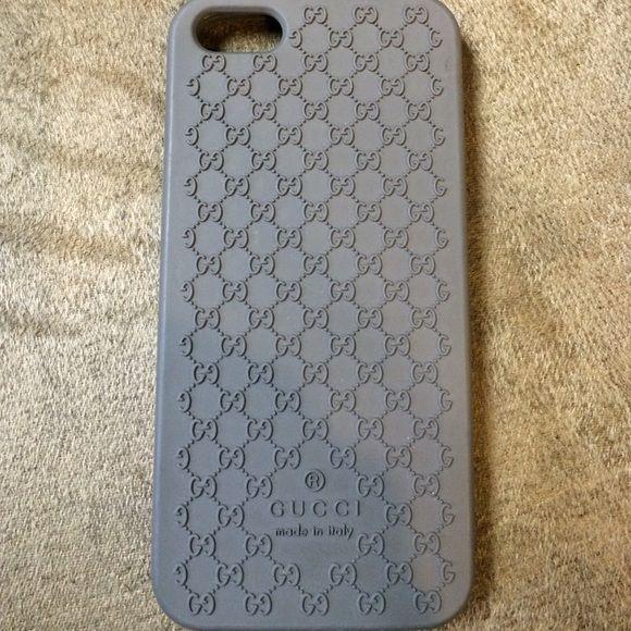 Gucci gray I phone 5 phone case Gucci gray I phone 5 phone case Gucci Accessories Phone Cases