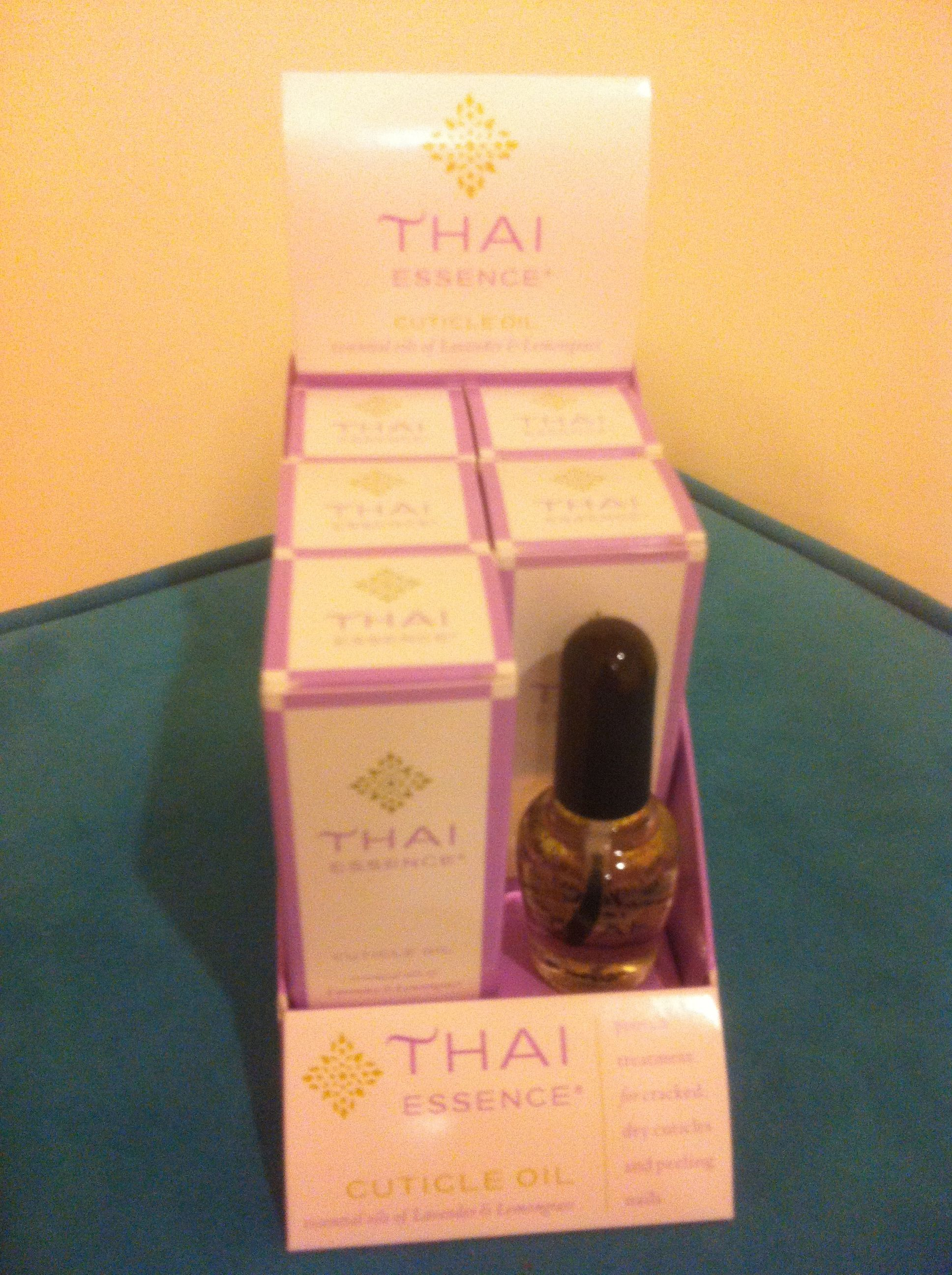 Scott Haken with Nail Magic donated a 12 pack of Thai Essence ...