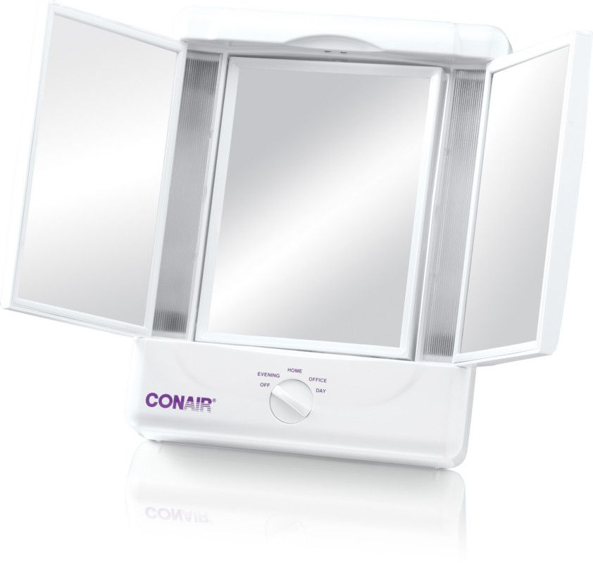 Conair Illumina Lighted Makeup Mirror Makeup Mirror With Lights Makeup Vanity Mirror Mirror