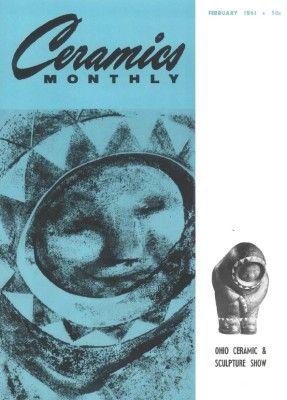 Ceramics Monthly February 1961 Ceramics Monthly Ceramics Monthly Ceramics Ceramic Art