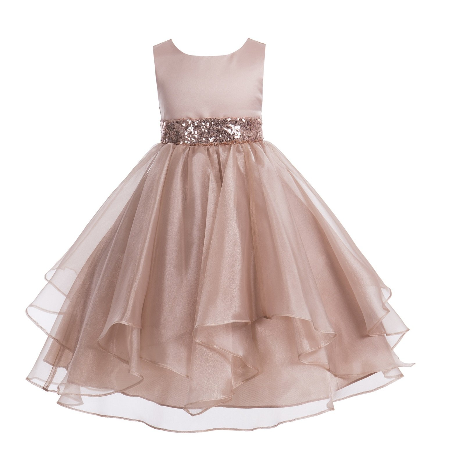 Tütükleid Toddler Girls Petals Organza GEBURSTAG Christening Party Dress