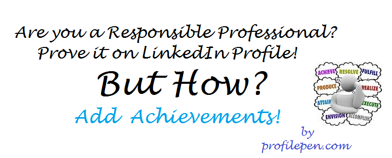 Are you a Responsible Professional? Prove it on LinkedIn