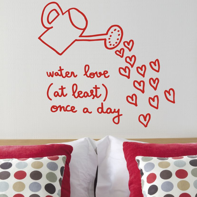 Lots of Love Decorative Wall Stickers from Chispum
