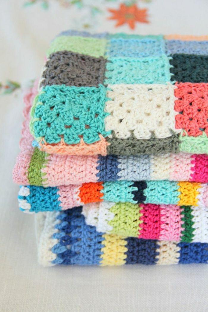 43 stilvolle Modelle Decken zum Häkeln | Decken, Babys und Wohnideen ...