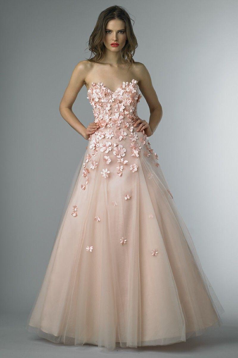 Basix Black Label Daisy Sweetheart Ball Gown