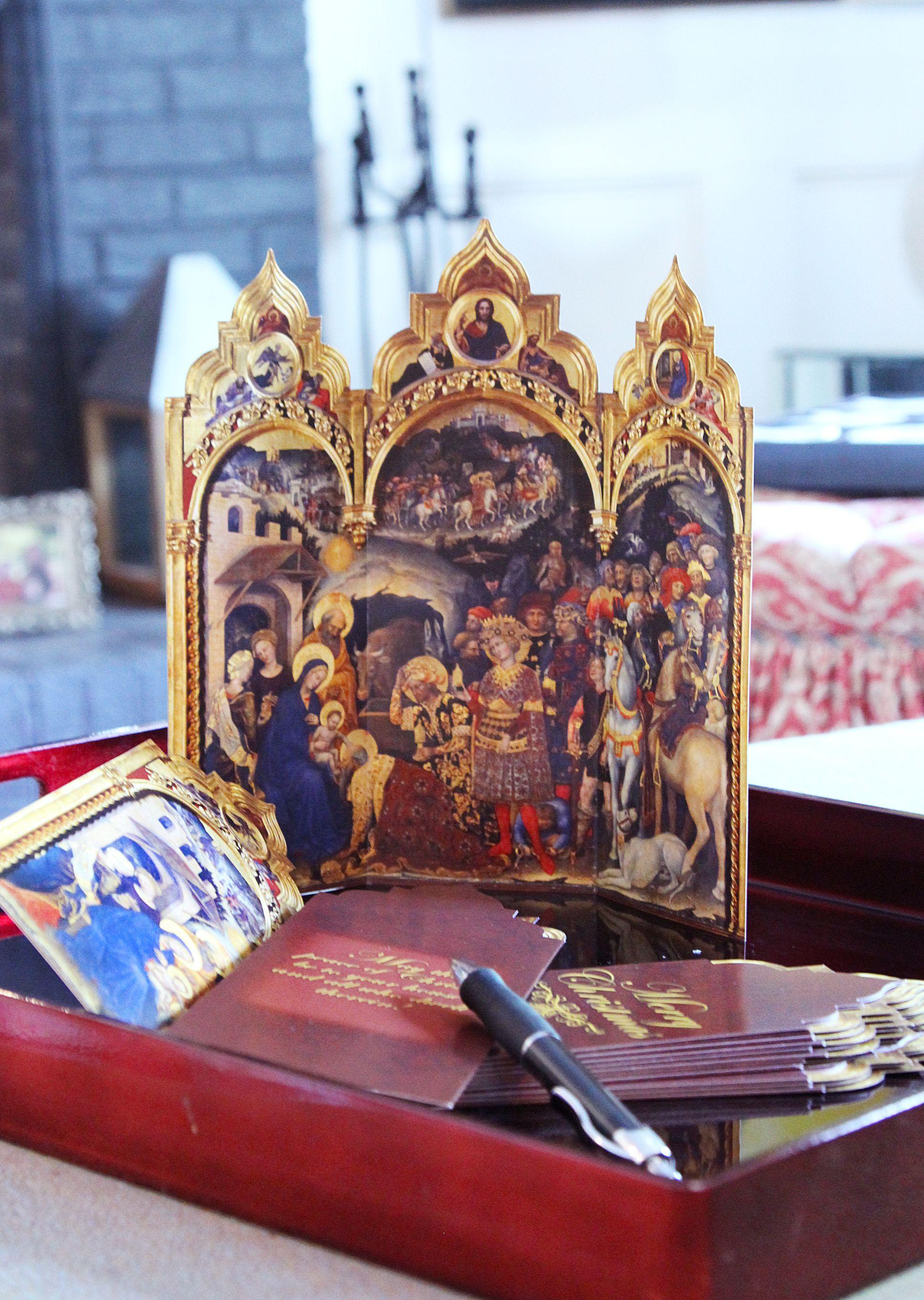 catholic christmas cards personalized
