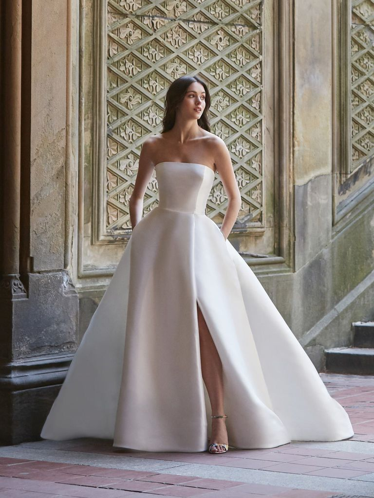 See Bliss Monique Lhuillier Wedding Dresses From Bridal Fashion