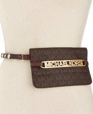 7e80d50c3b2b MICHAEL Michael Kors Logo Fanny Pack   For Style - Bag to Brag! in ...