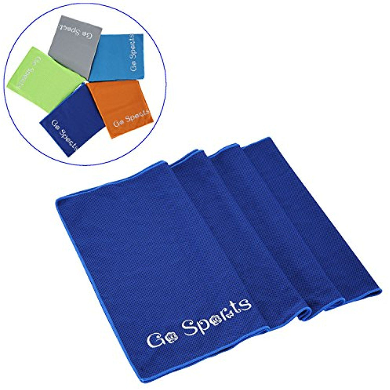 Go Sports Cooling Towel Extra Long And Multipurpose Sports Towel