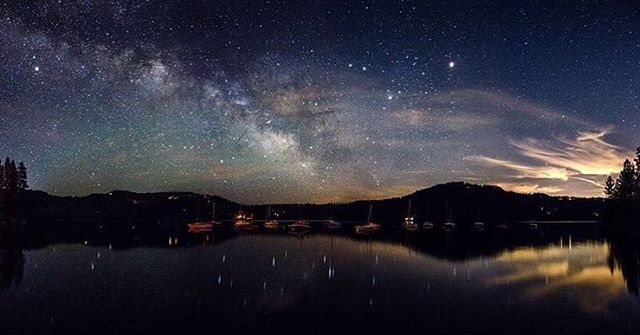 Go star gazing at Scott's Flat Lake, photo by Michael Quinn Photography, Nevada City