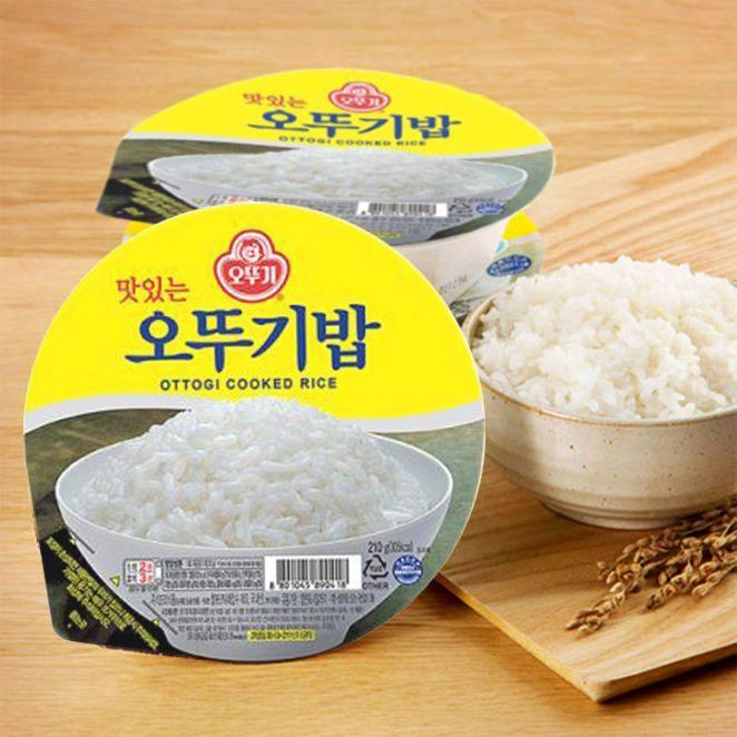 precooked rice instant rice ottogi rice