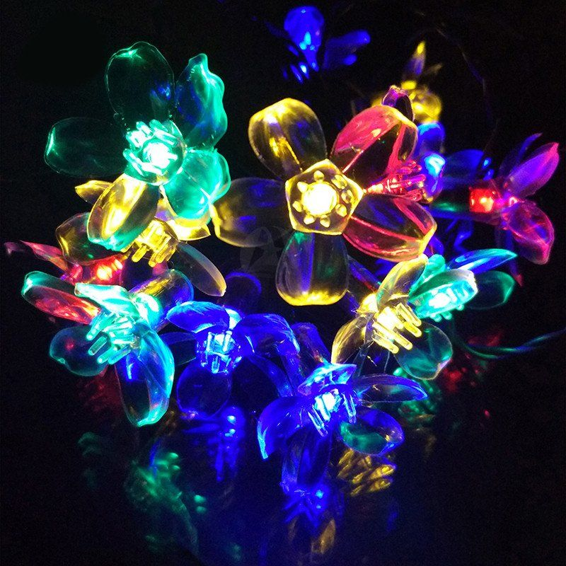 unique solar flower christmas lights 30 proceeds from every purchase goes to animal charities