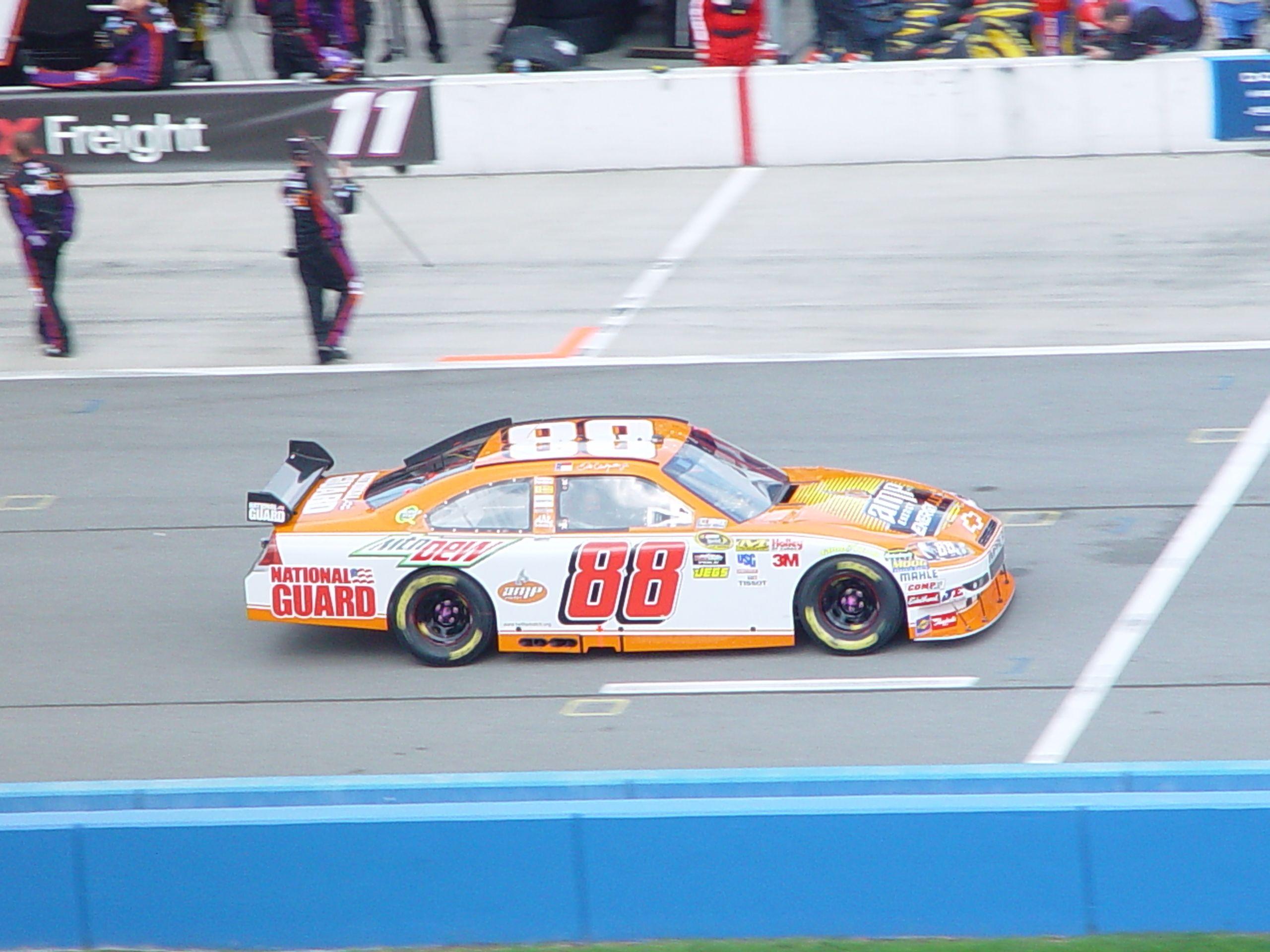 Junior at California Speedway