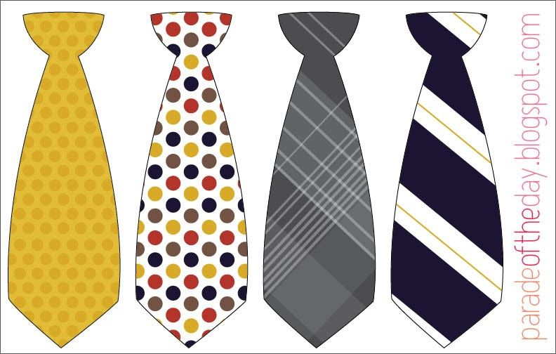 graphic regarding Printable Ties titled Parade of the Working day: Tiny Male Tie Printable Fundamental Father