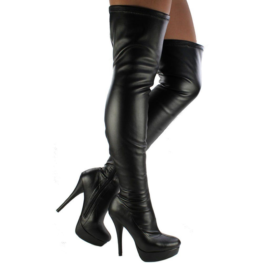 Knee Thigh High Boots | Stylish Clothes and shoes | Pinterest ...