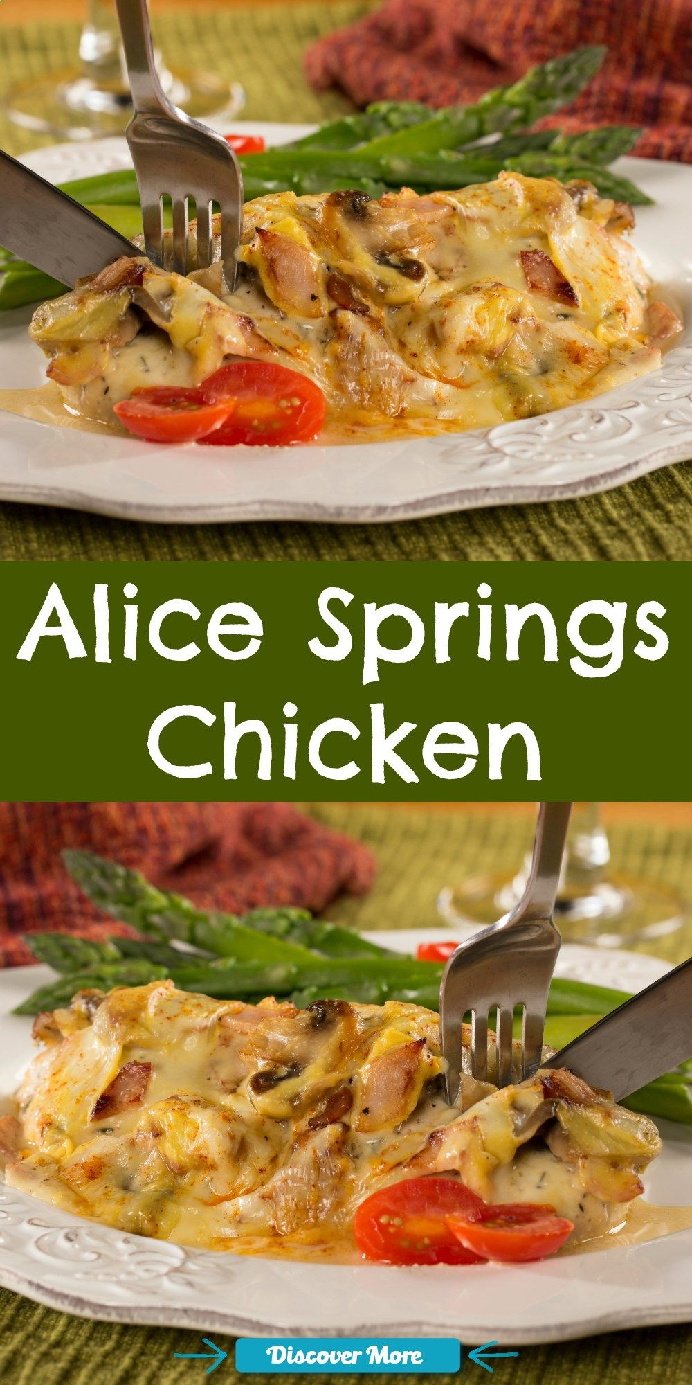 Restaurant recipes like our version of Alice Springs Chicken will keep em coming back for more and more!