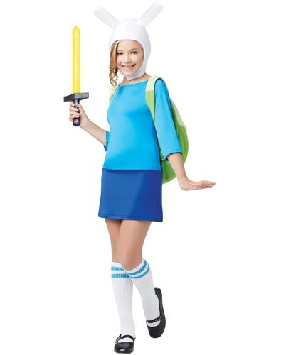 Adventure Time Fionna Child Costume from Spirit Halloween on Catalog Spree my personal digital mall  sc 1 st  Pinterest & Adventure Time Fionna Child Costume from Spirit Halloween on Catalog ...