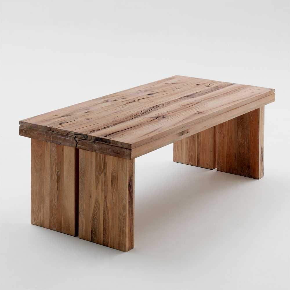 Esstisch aus Eiche Massivholz 220cm holztisch,massivholztisch ...