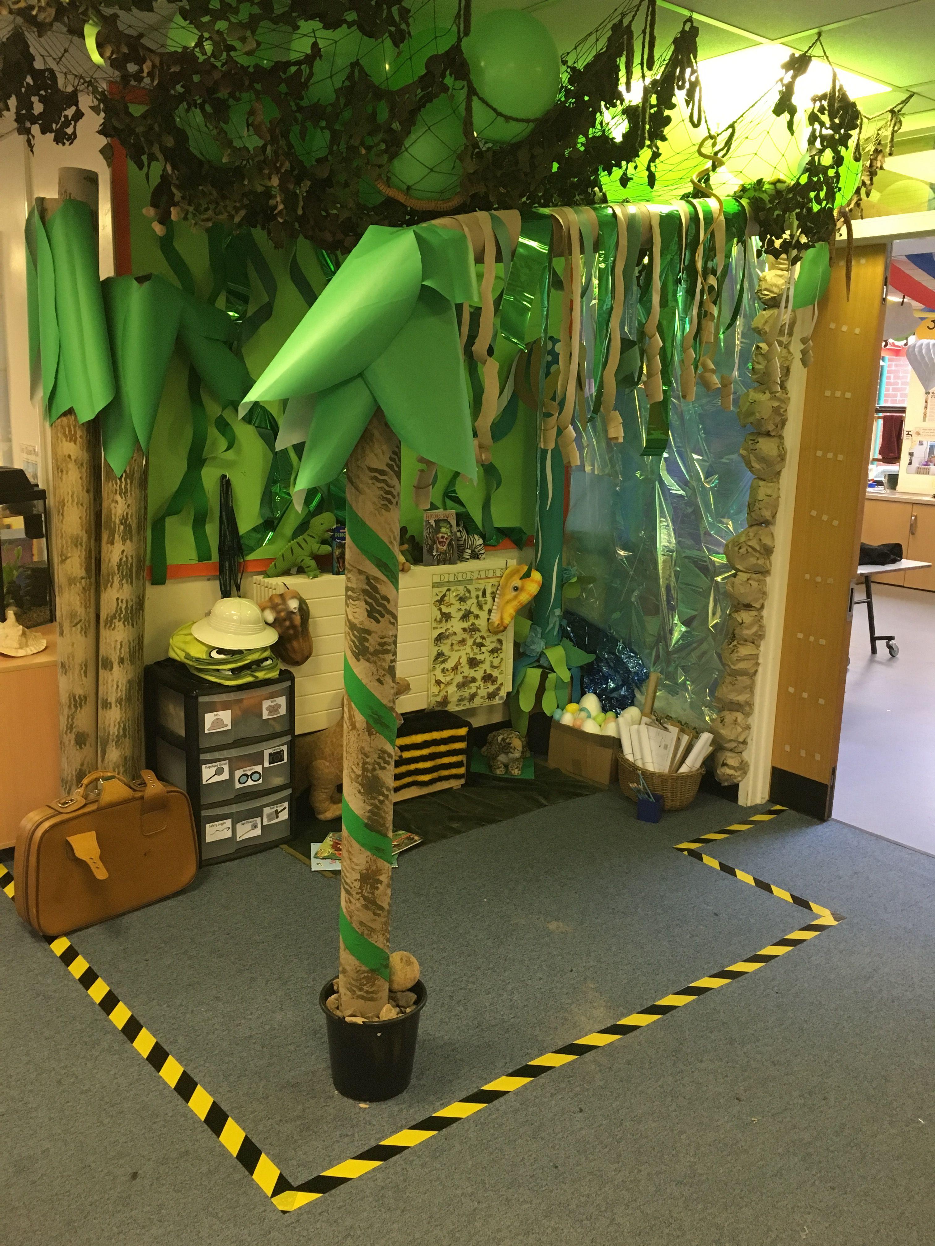 Dinosaur Jungle Explorer Role Play Area!