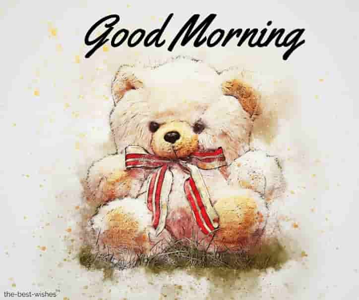 Free Download Good Morning Teddy Bear Images For Facebook Hd