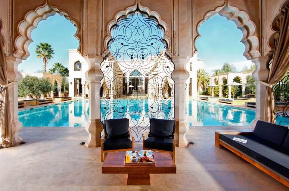 حجز فندق في أصيلة المغرب Moroccan Design Moroccan Interiors Art Deco Interior Design