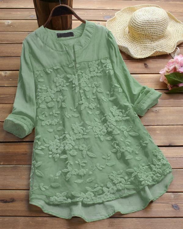 Long Sleeve Casual V Neck Vintage Blouses Gifthershoes Pakaian Wanita Pakaian Bayi Perempuan Model Pakaian