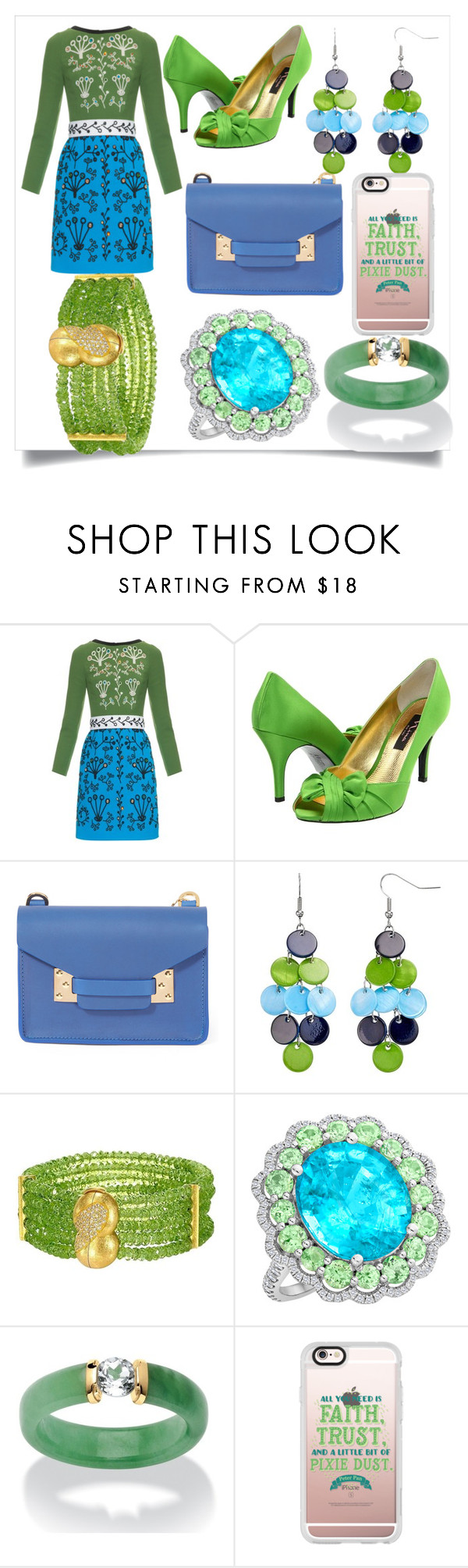"""Untitled #752"" by fashionqueen556 ❤ liked on Polyvore featuring Peter Pilotto, Nina, Sophie Hulme, Palm Beach Jewelry and Casetify"