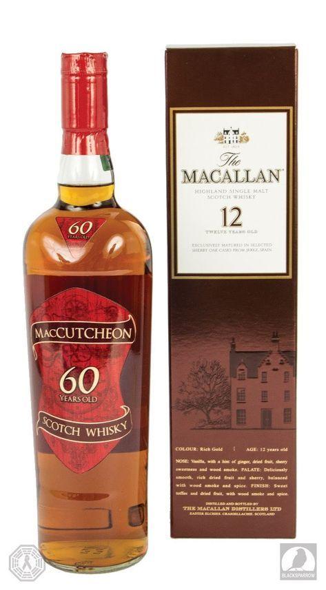 Maccutcheon Scotch Whisky Rebranded Macallan 12 Sold -2693
