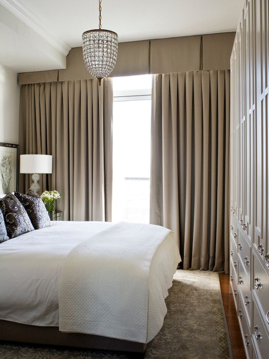 Kimberley Seldon Design Group Bedrooms Valance Brown Valance
