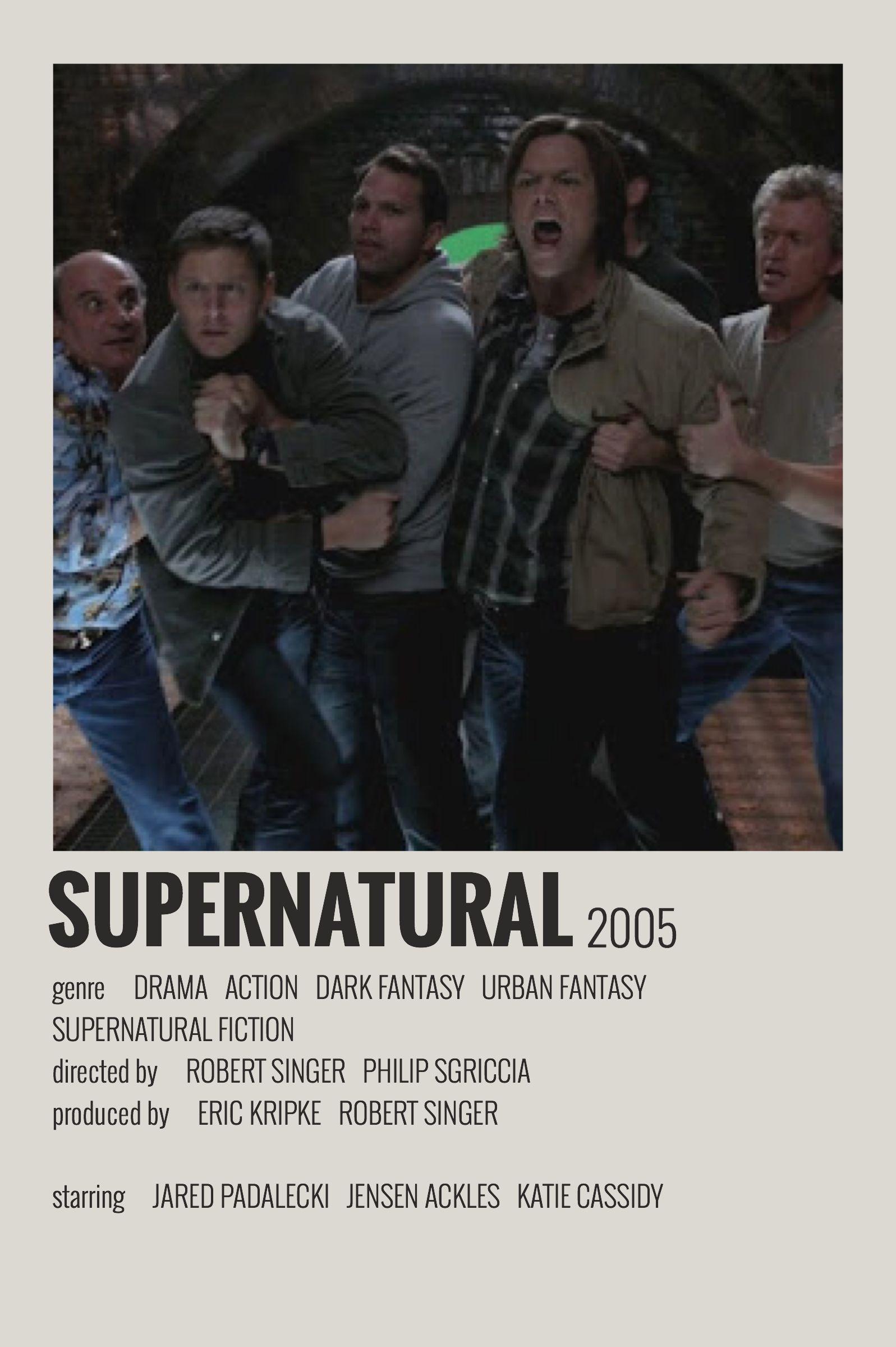 Alternative minimalist movieshow polaroid poster