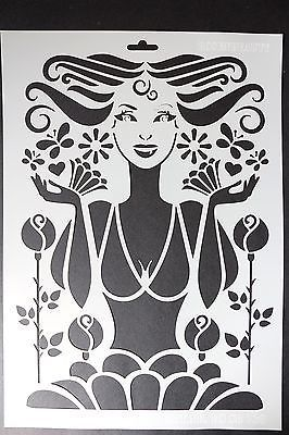 Heike Schafer Schablone A3 Rosenbeauty Schablonen Schablone Designs Shabby Vintage