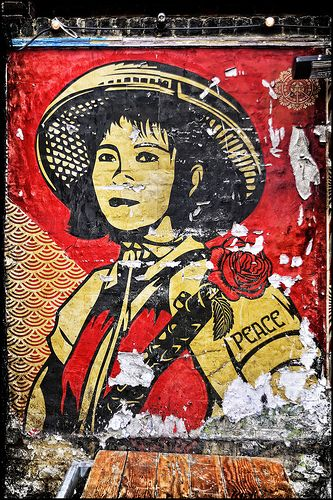Street art - Obey | obey | Pinterest | Street art, Street artists ...