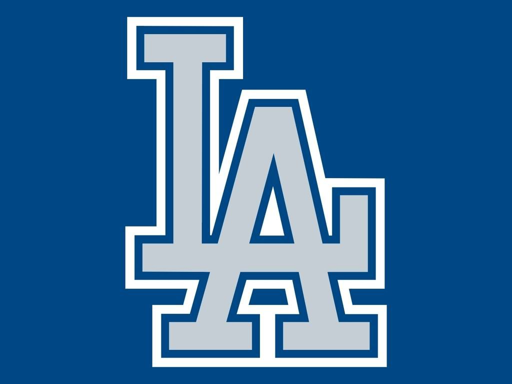 La Dogers Los Angeles Dodgers Logo Mlb Logos Sports Team Banners