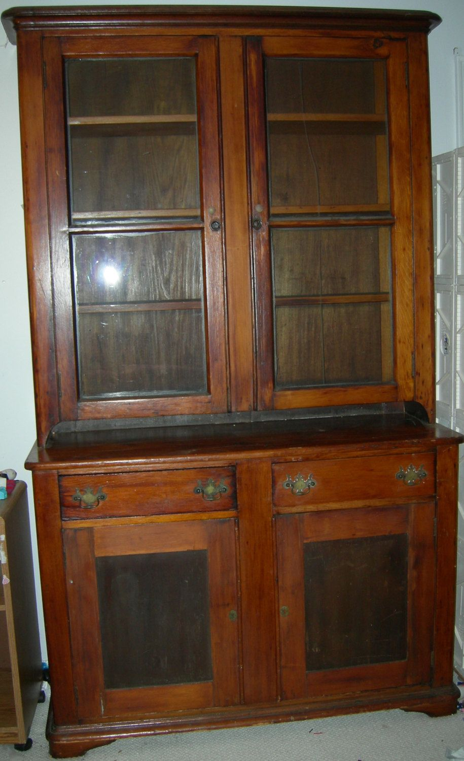 Antique stepback cupboard by antiquesplusmore on Etsy - Antique Stepback Cupboard By Antiquesplusmore On Etsy Gifts For