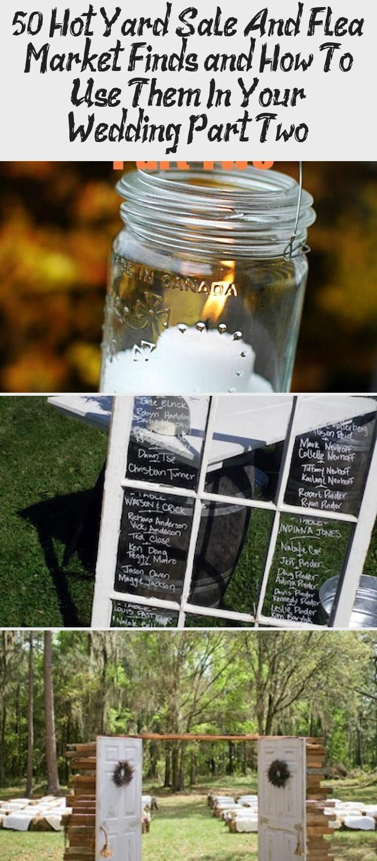 50 Hot Yard Sale and Flea Market Finds And How to Use them in Your Wedding Pa 50 Hot Yard Sale and Flea Market Finds And How to Use them in Your Wedding Part Two  Intimat...