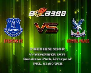 Agen Bola Terpercaya : Prediksi Skor Everton Fc Vs Crystal Palace Fc 08 Desember 2015 http://goo.gl/Bskqca